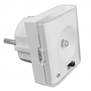 Schotman Elektro BV - SEP LND-10 noodverlichting geschikt voor wandcontactdoos