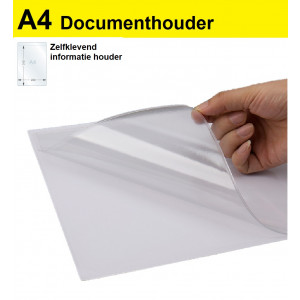 Schotman Elektro - SEP GA4F documenthouder zelfklevend