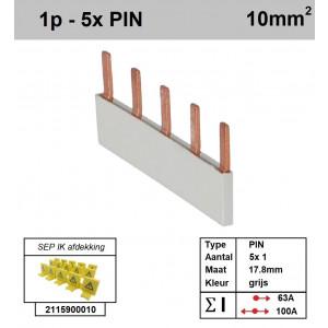 SEP P01005G00 Kam 1f PIN 5p 17,8mm