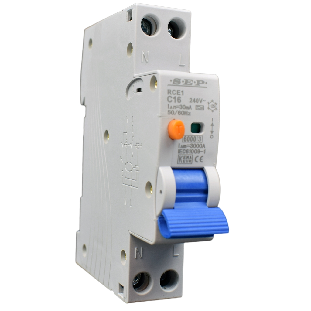 SEP RCE1 aardlekautomaat 18mm